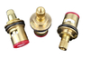 "1/2"" high quality ACS fast open cartridge brass faucet ceramic valve core"